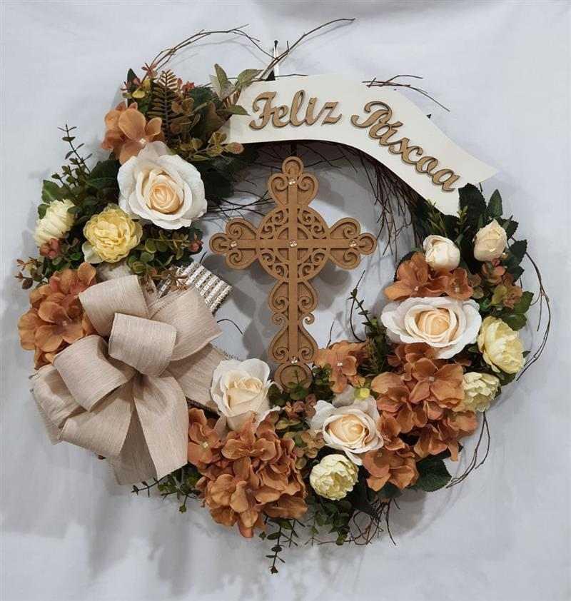 guirlanda de Páscoacom cruz