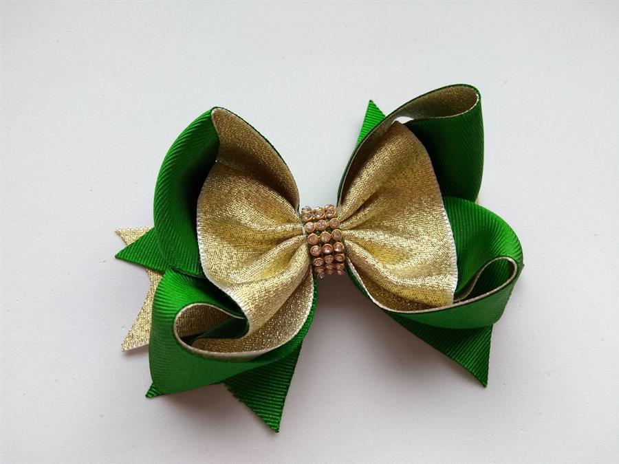 de natal verde e dourado