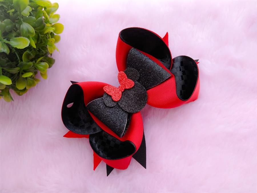 Minnie preto e vermelho