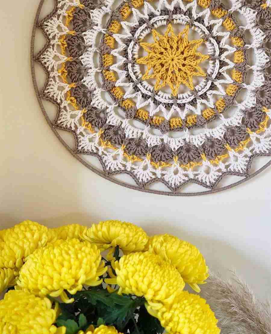 Mandala na decoração