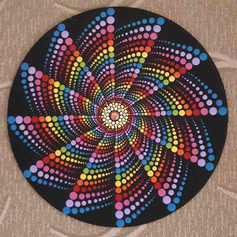 espiral pontilhismo