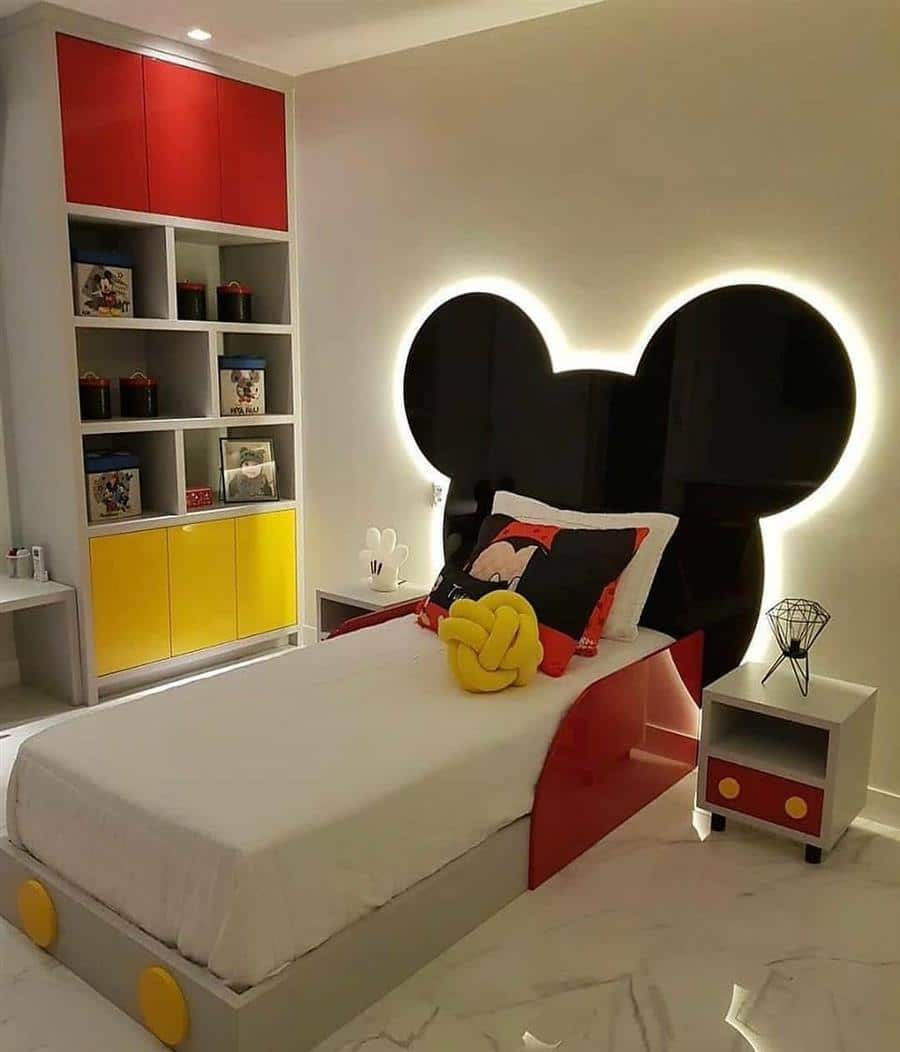 enfeites para quarto infantil tema Mickey