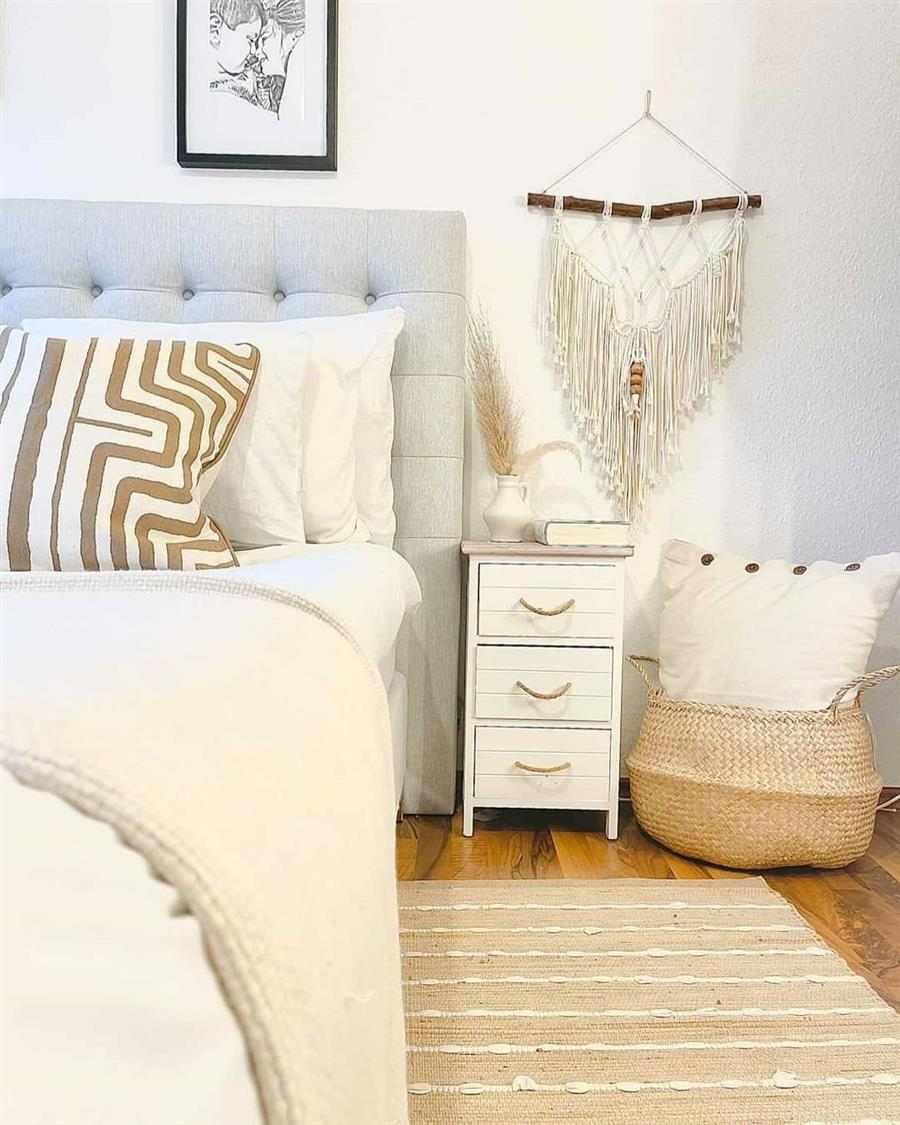 decoração para quarto casal pequeno