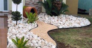pedra jardim