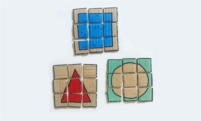 Quebra-cabeça geométrico