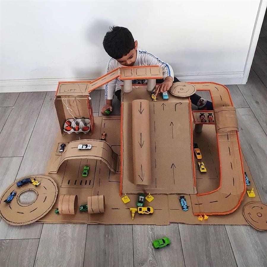 brinquedos de reciclagem infantil