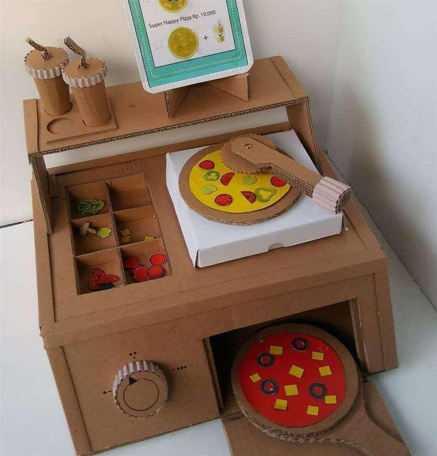 brinquedos para fazer com reciclagem