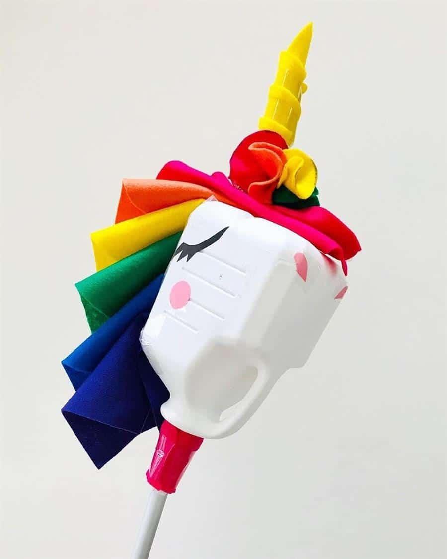 brinquedos feitos com reciclagem