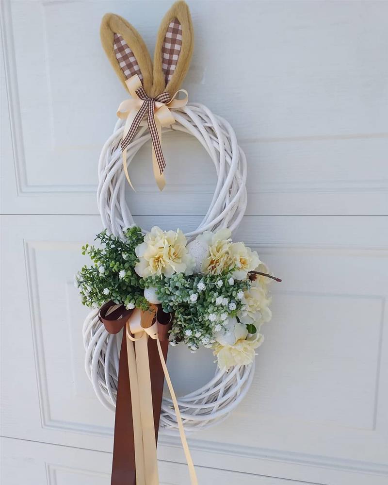 coelho para porta de entrada