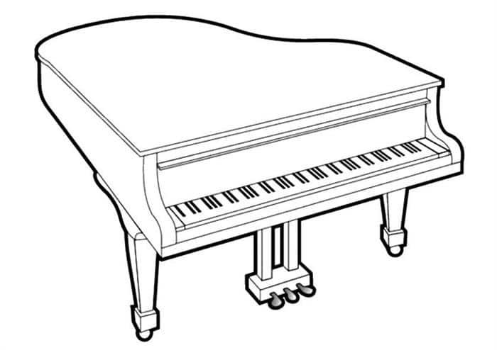 piano para imprimir
