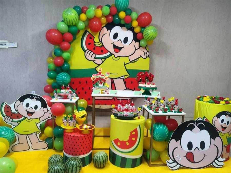 Balões de melancia