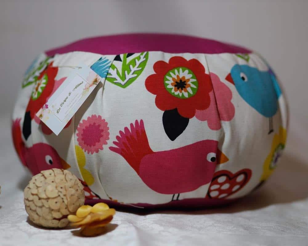 artesanato em casa puff de tecido