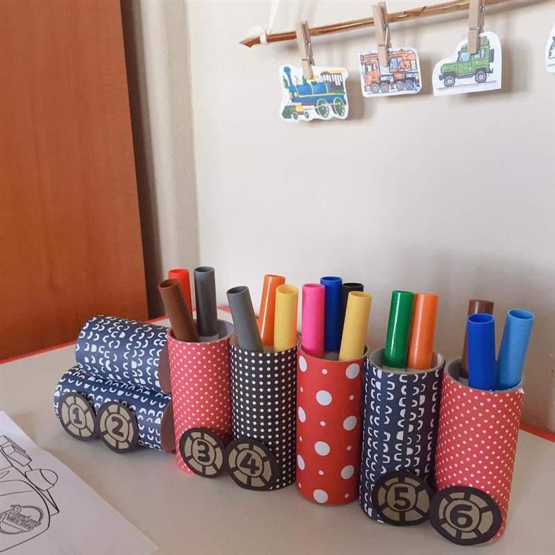 brinquedo organizador e rolinho