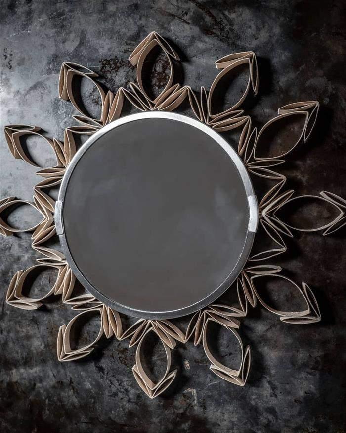enfeite de moldura de espelho