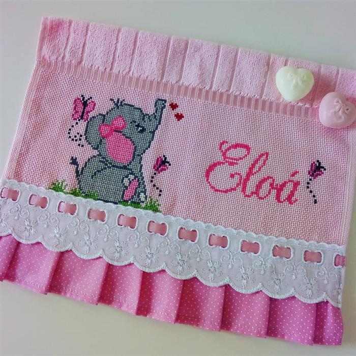 elefante com nome eloa