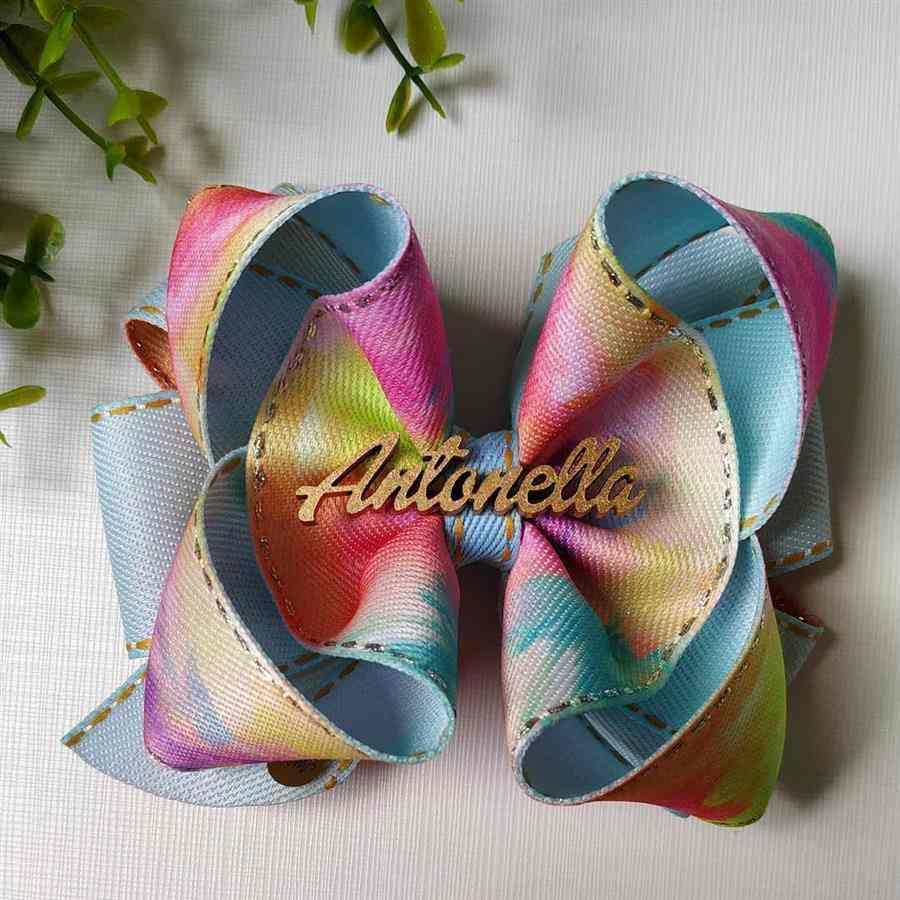 Laço tie dye Antonella