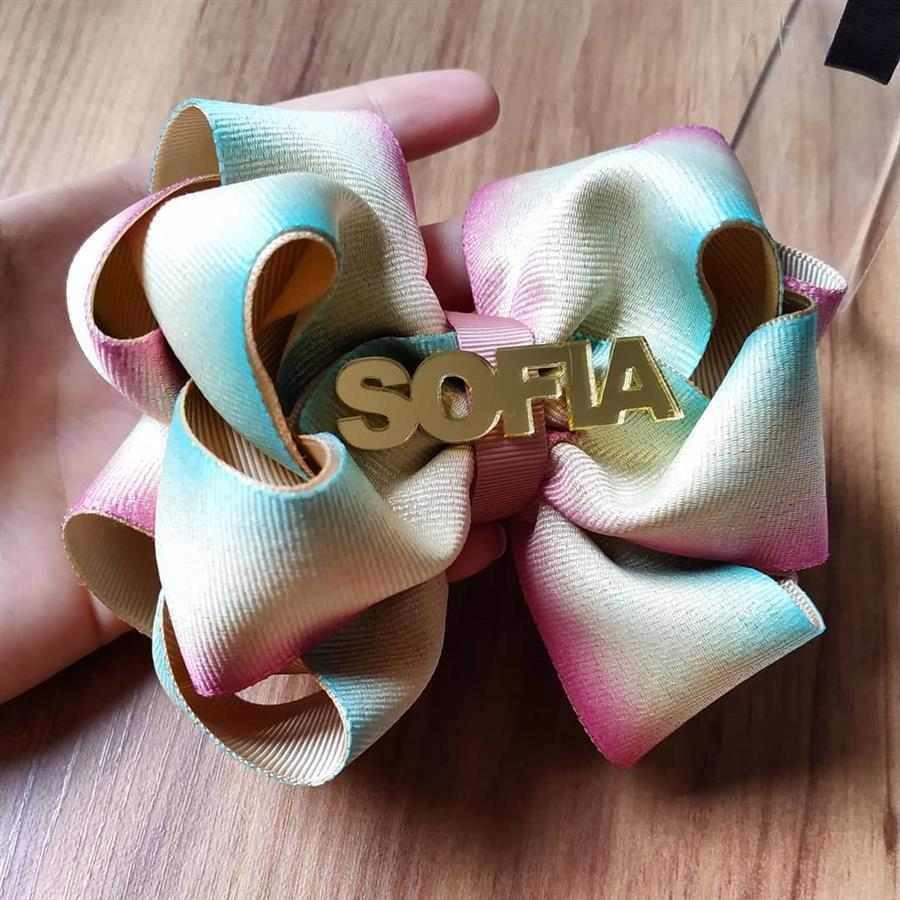 Nome Sofia com letras maiúsculas