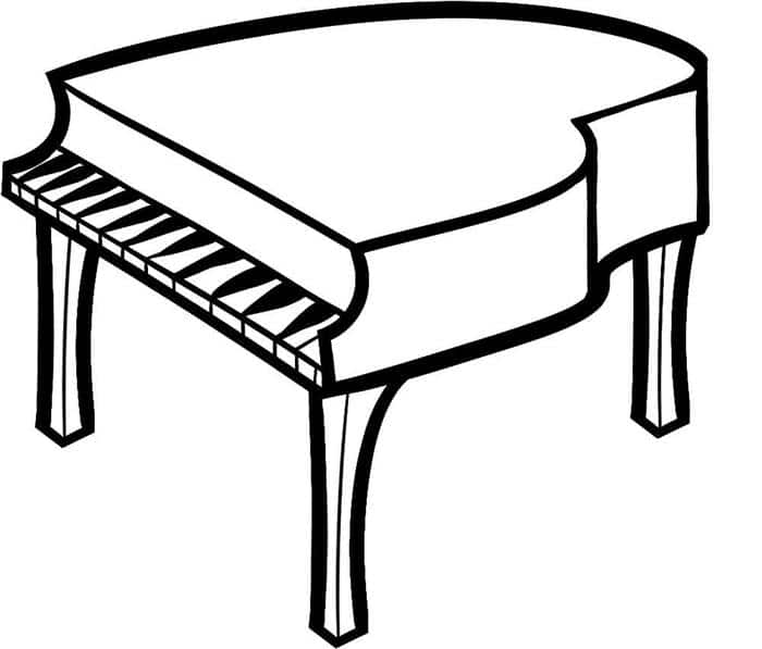 piano simples