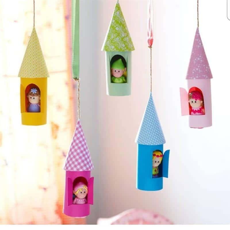 enfeite de teto para bonecas