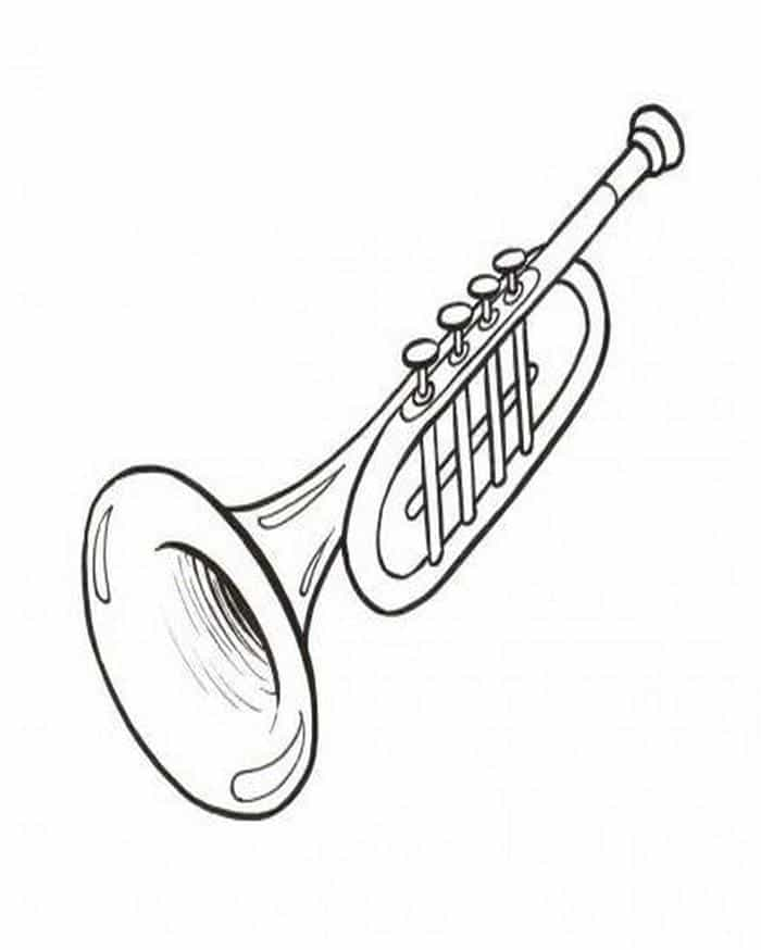 imagem de desenhos de instrumentos musicais