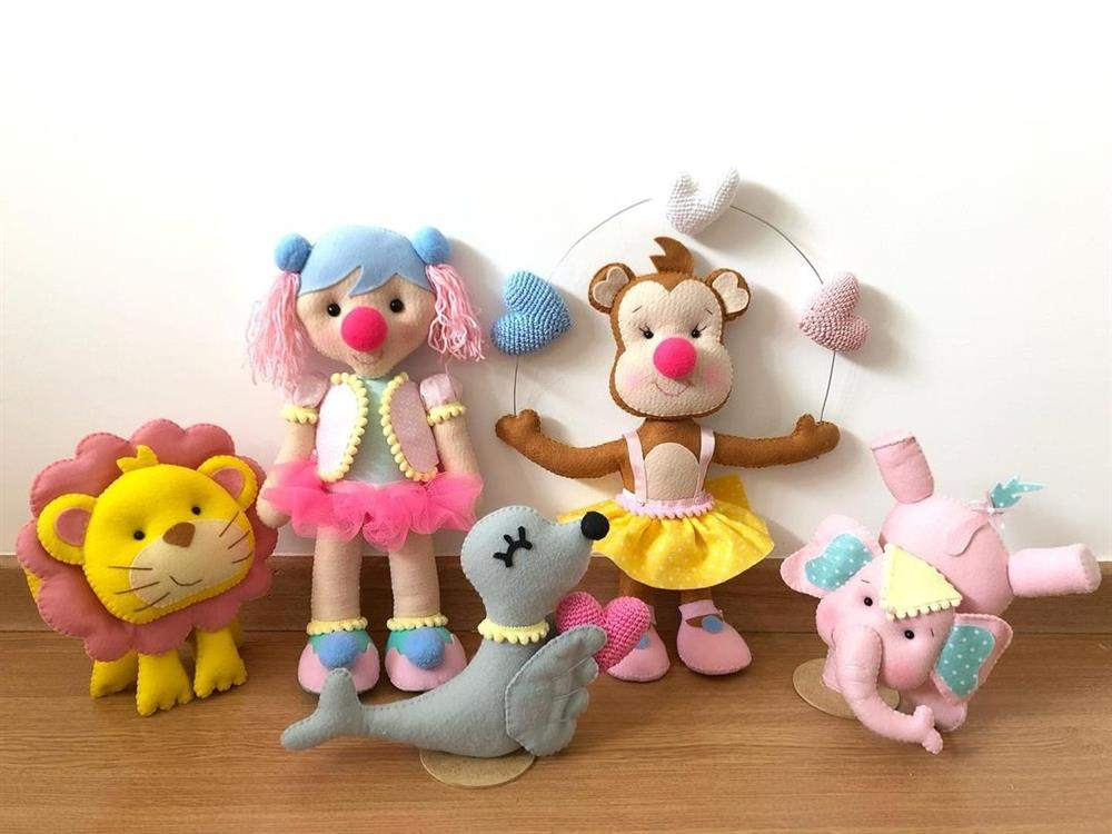 artesanato em casa bonecos de feltro