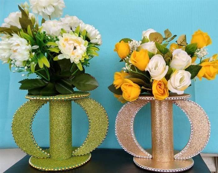 artesanato com rolo de papel higiênico decorado