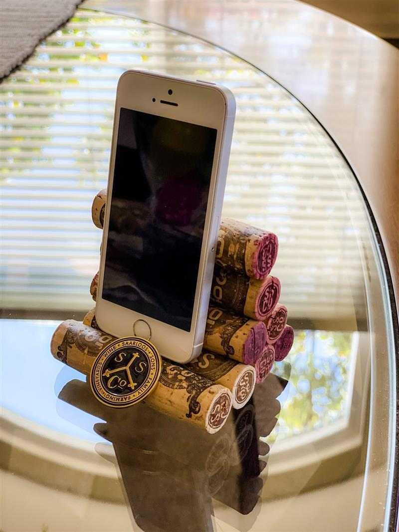 Suporte de celular de mesa