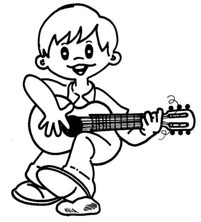 desenhos de instrumentos musicais com nomes