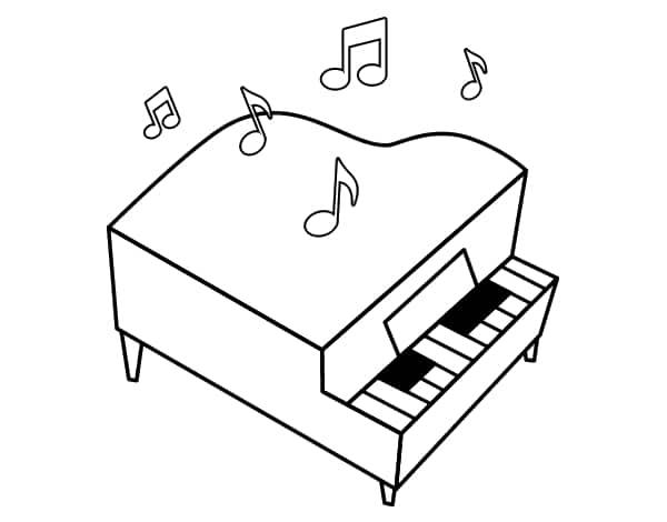 piano para pintar