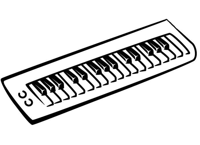 nomes e desenhos de instrumentos musicais