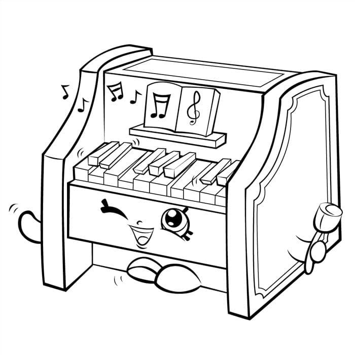 desenhos de piano