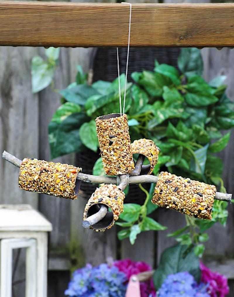 comedor de passarinho sustentável