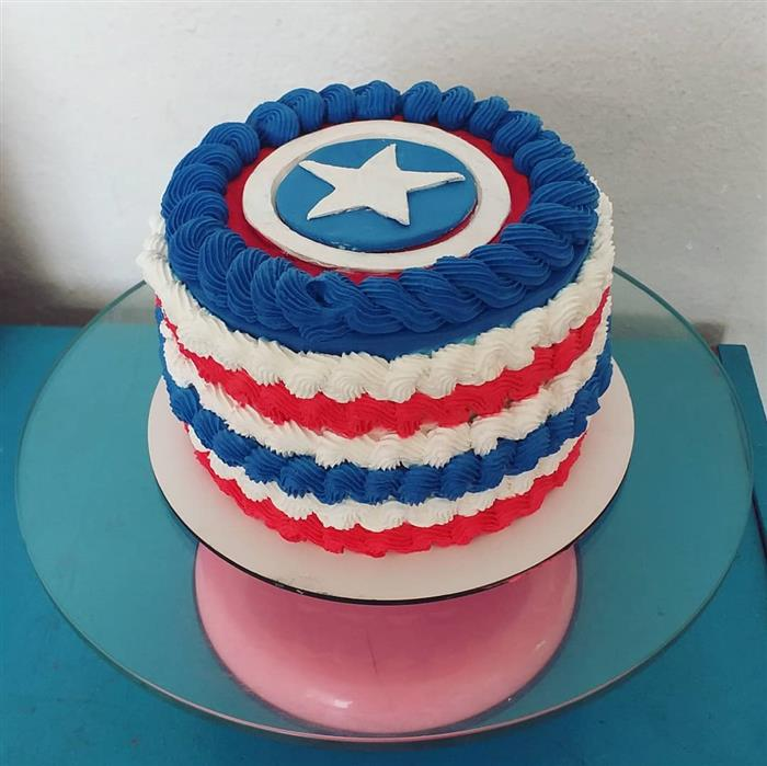 bolo estrela