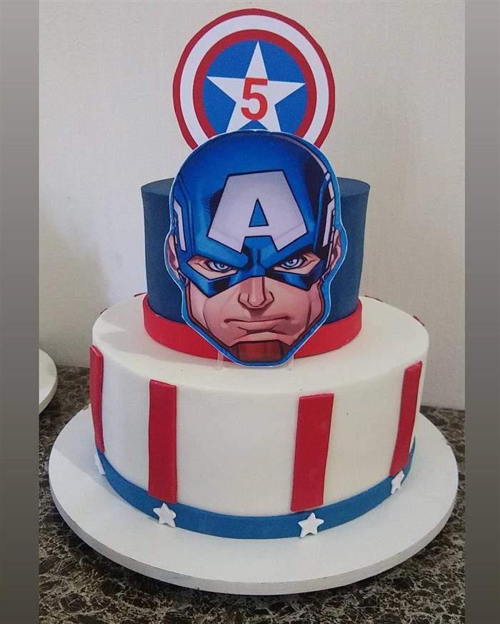 bolo falso capitão america