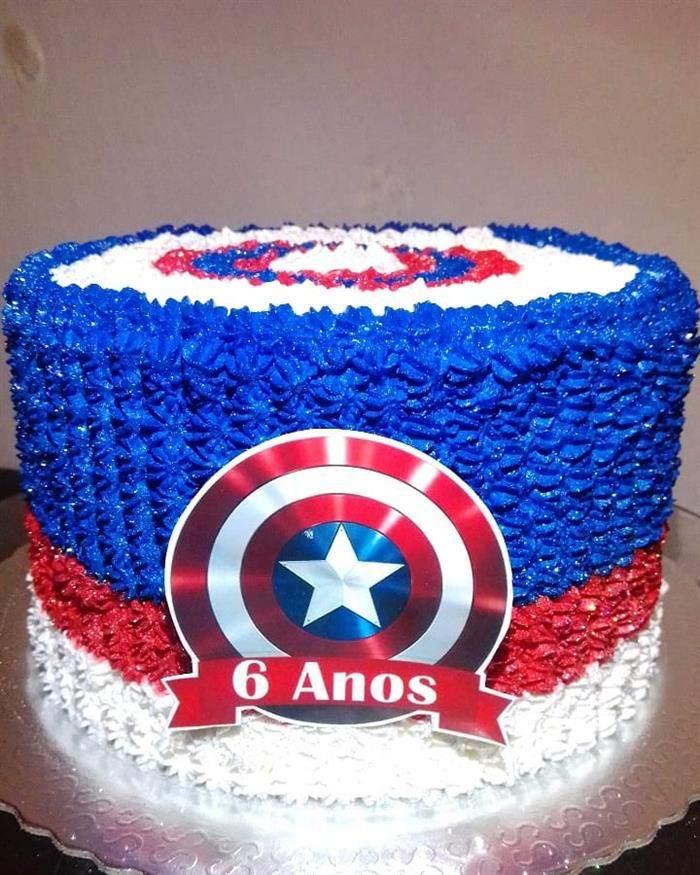 bolo pequeno e simples