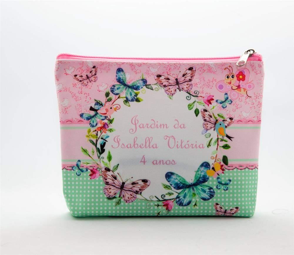 lembrancinha bolsa jardim encantado