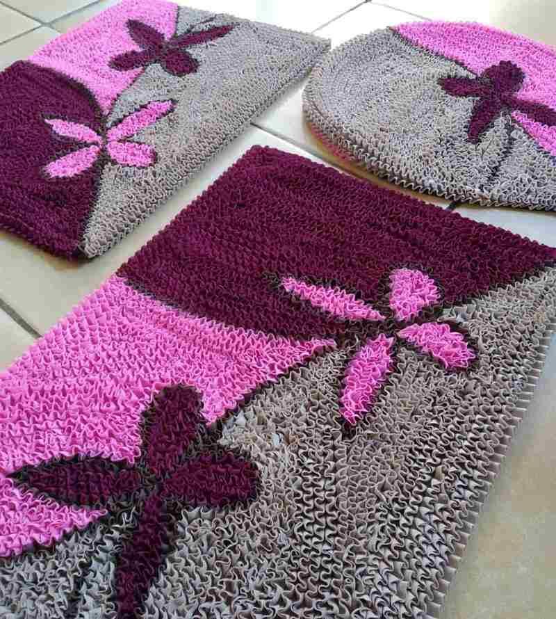 lilas rosa e cinza