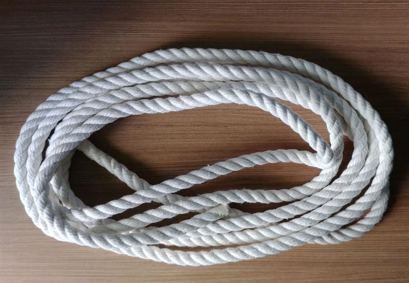 corda para colar branca