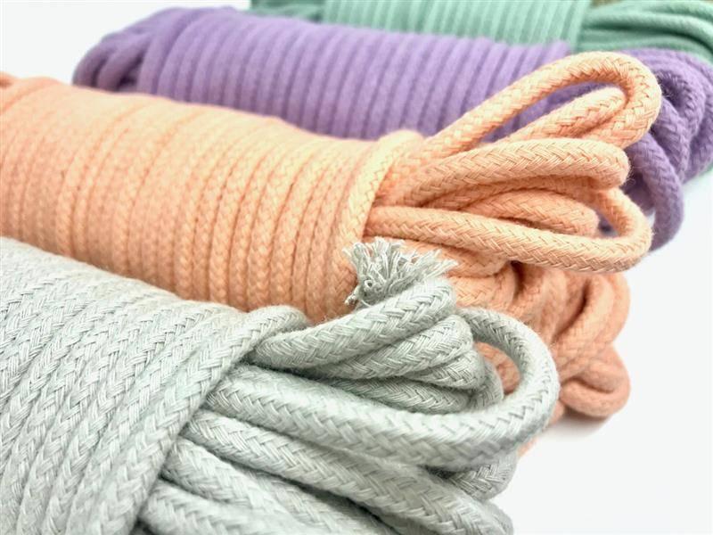 corda colorida para artesanato