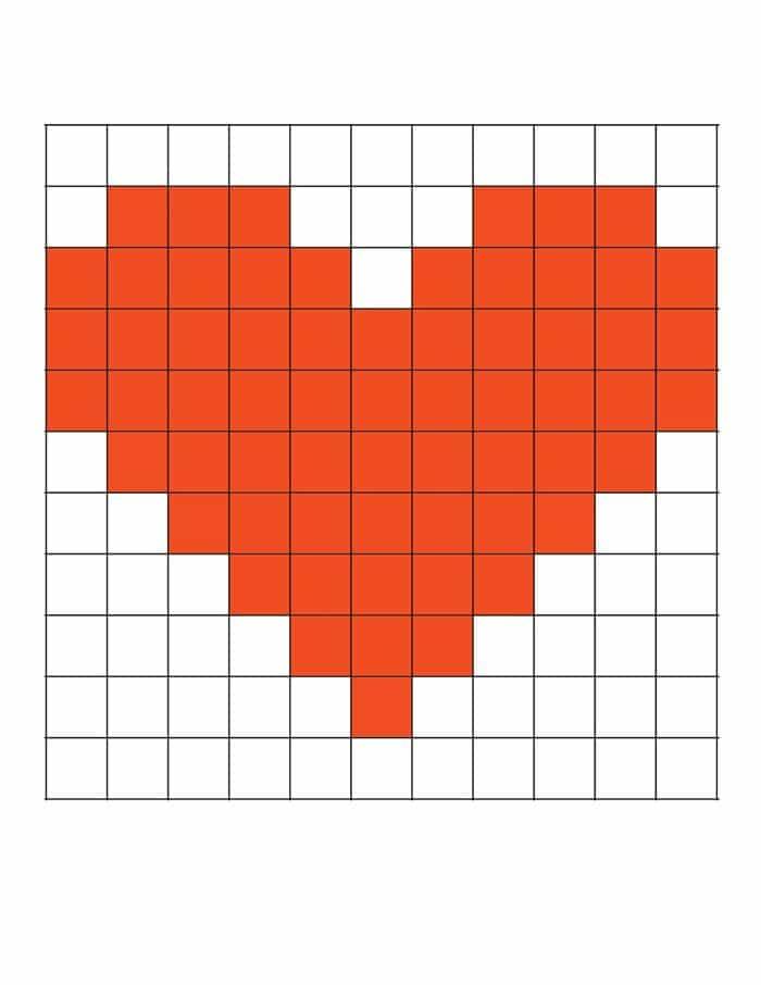 coração para bordar