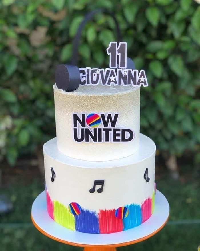 decoração festa now united