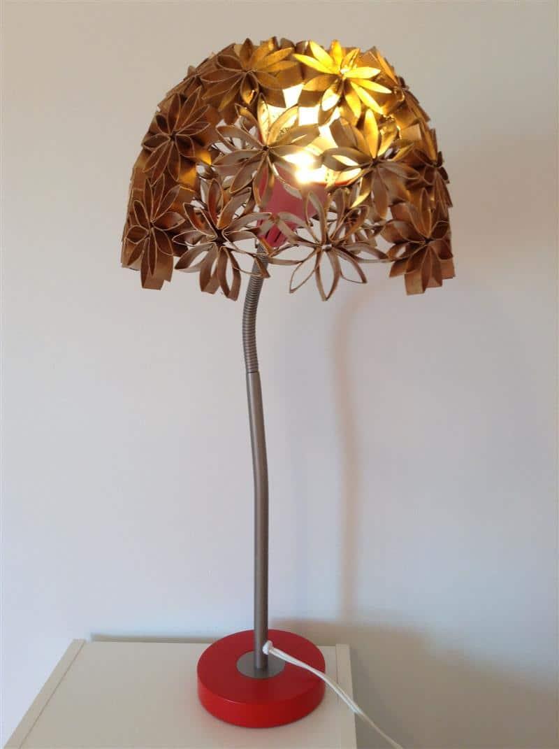cúpula de material reciclado