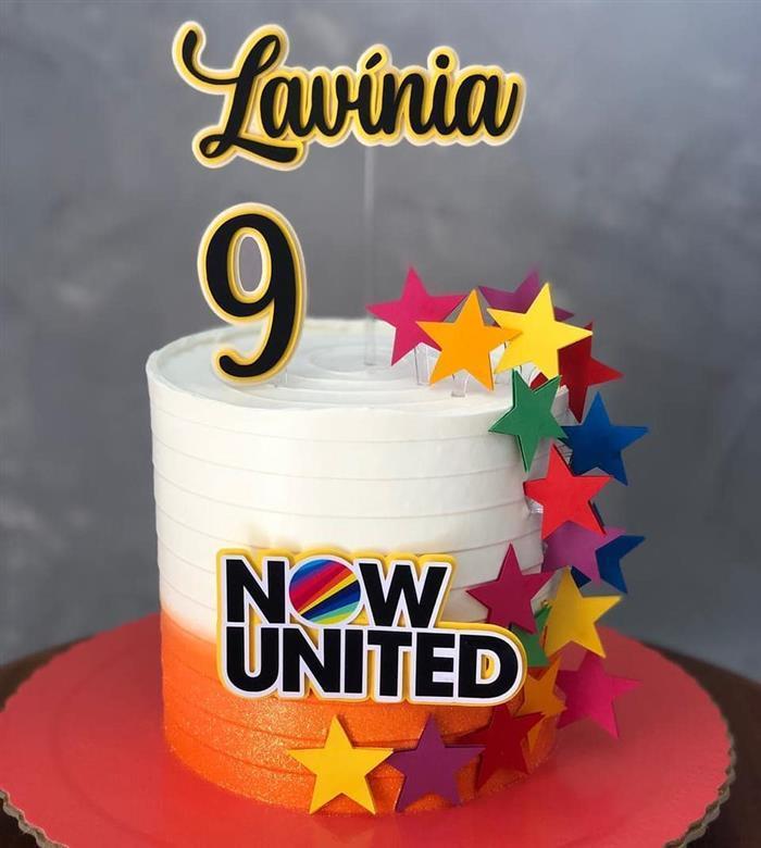 festa do now united bolo