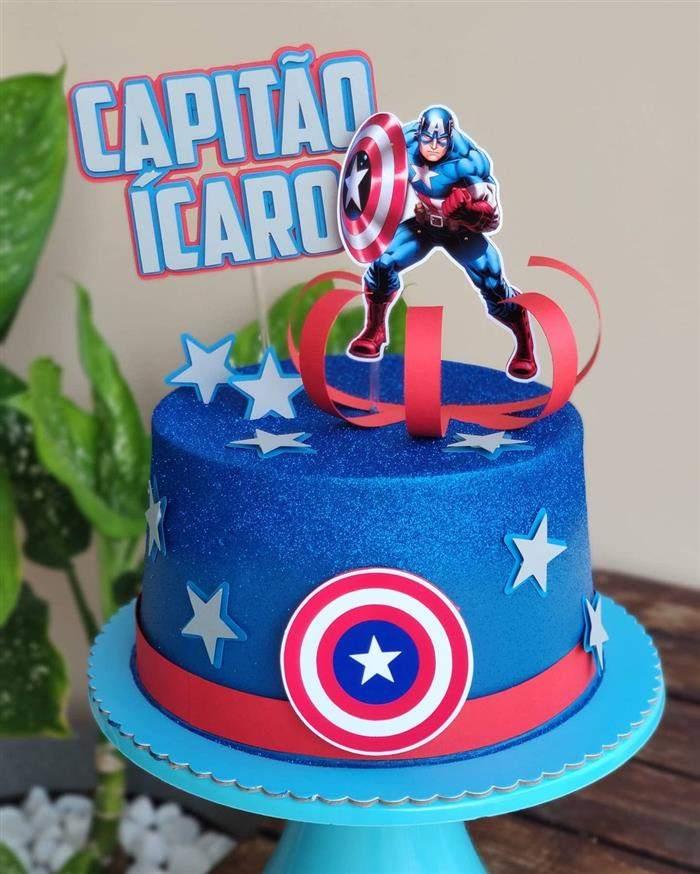 festa simples capitão