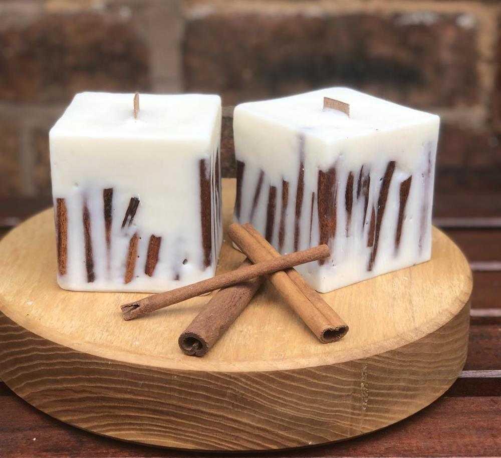 velas aromáticas de canela
