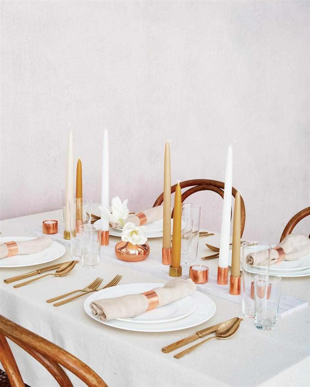 velas na decoração