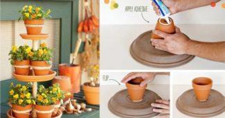 ideias para jardim usando vasos