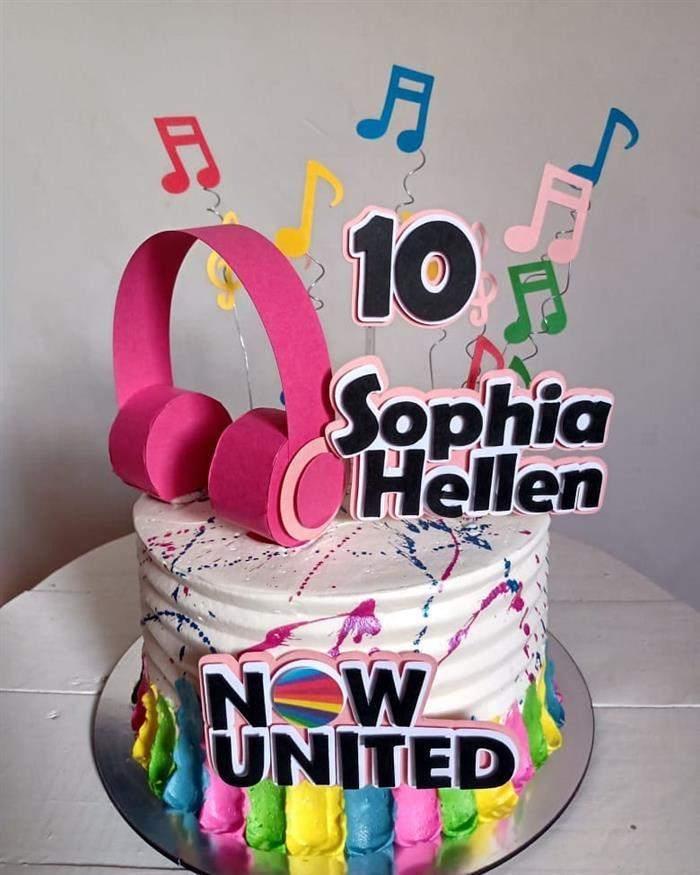 now united bolo de aniversário
