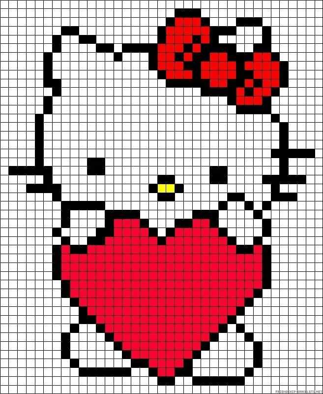 hello kitty com coração