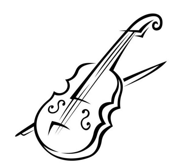 desenhos de instrumento musical